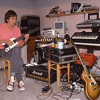 Guitarist Allan Holdsworth. 1946 - 2017.<br />