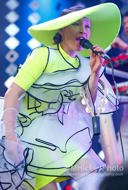 CHICAGO, IL - AUGUST 04: Yukimi Nagano of Little Dragon performs at Grant Park on August 4, 2017 in Chicago, Illinois. (Photo by Michael Hickey/Getty Images) *** Local Caption *** Yukimi Nagano