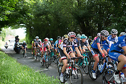Lucinda Brand (NED) of Team Sunweb rides mid-pack during Stage 3 of the OVO Energy Women's Tour - a 151 km road race, between Atherstone and Royal Leamington Spa on June 9, 2017, in Warwickshire, United Kingdom. (Photo by Balint Hamvas/Velofocus.com)