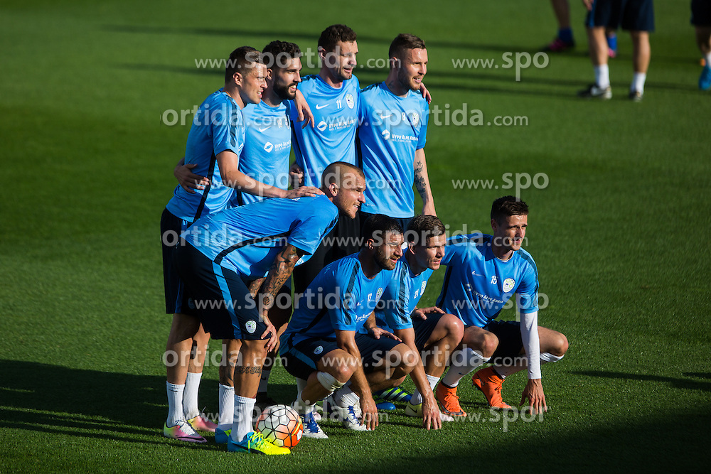Slovenian team during practice session of Slovenian Football Team before friendly match against Turkey, on June 2, 2016 in Football centre Brdo pri Kranju, Slovenia. Photo by Ziga Zupan / Sportida