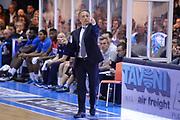DESCRIZIONE : Brindisi Lega A 2014-15 <br /> Enel Brindisi Sidigas Avellino<br /> GIOCATORE : Bucchi Piero <br /> CATEGORIA : Allenatore Coach Mani <br /> SQUADRA : Enel Brindisi<br /> EVENTO : Lega A 2014-15 <br /> GARA : Enel Brindisi Sidigas Avellino<br /> DATA : 27/04/2015<br /> SPORT : Pallacanestro<br /> AUTORE : Agenzia Ciamillo-Castoria/M.Longo<br /> Galleria : Lega Basket A 2014-2015<br /> Fotonotizia : Brindisi Lega A 2014-15 <br /> Enel Brindisi Sidigas Avellino<br /> Predefinita :