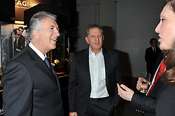 Left to right, PIERO FERRARI and JODY SCHECKTER at the Motor Sport magazine's 2013 Hall of Fame awards at The Royal Opera House, London on 25th February 2013.