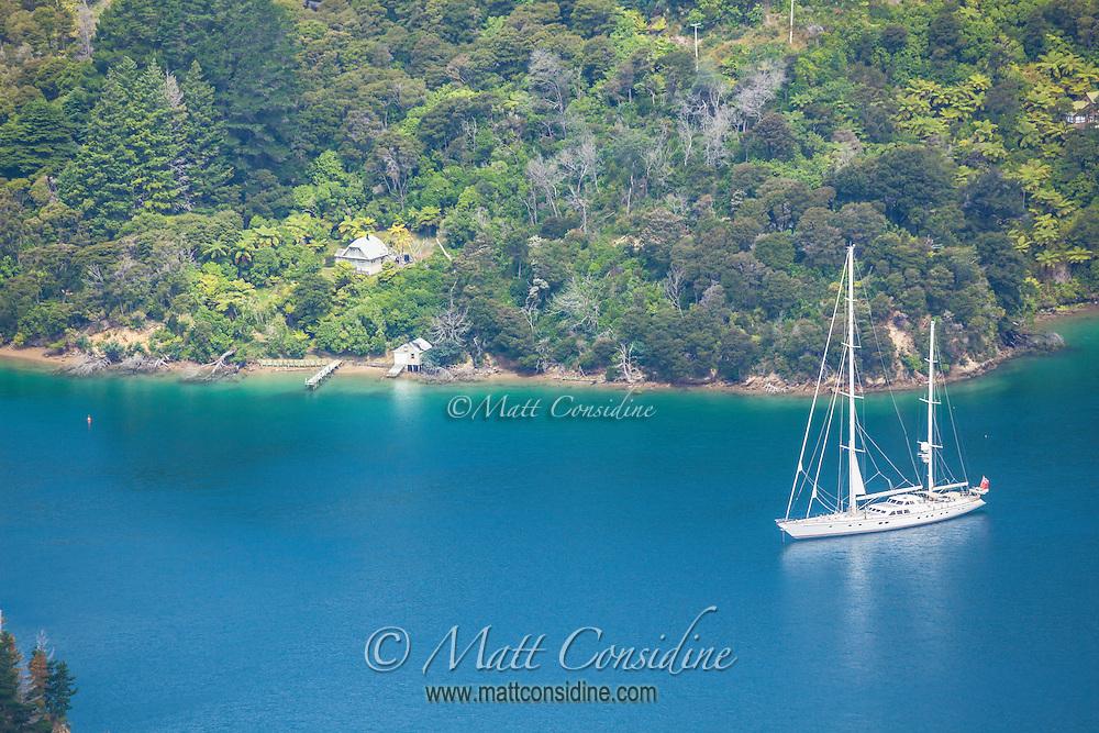 Perfect sailing in Marlborough Sounds. (Photo by Travel Photographer Matt Considine)