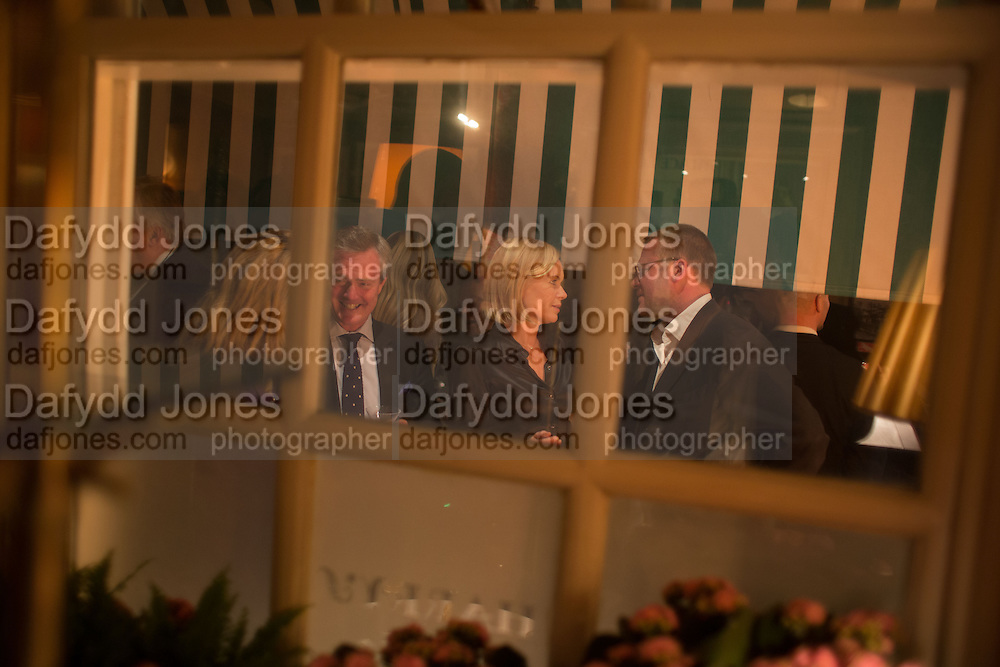MARIELA FROSTRUP, Charles Finch and  Jay Jopling host dinner in celebration of Frieze Art Fair at the Birley Group's Harry's Bar. London. 10 October 2012.