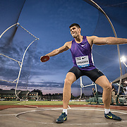 The Prefontaine Classic-2015-Discus-Robert Urbanek of Poland.