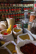 Herb and spice store, Vallarta Food Tours, El Pitillal, Puerto Vallarta, Jalisco, Mexico