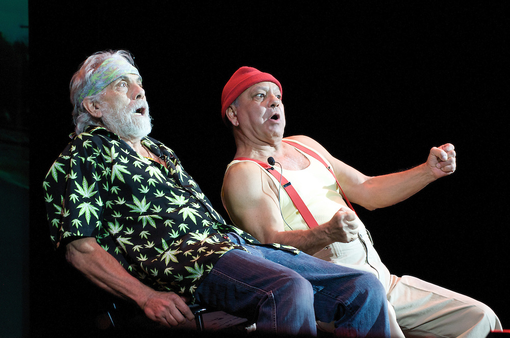 "Cheech and Chong Perform  on Their ""Light It America"" Tour at Paramount Theatre In Asbury Park NJ"