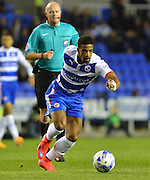 Reading's Garath McCleary during the Sky Bet Championship match between Reading and Birmingham City at the Madejski Stadium, Reading, England on 22 April 2015. Photo by Mark Davies.