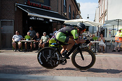 Marta Tagliaferro at Boels Rental Ladies Tour Prologue a 4.3 km individual time trial in Wageningen, Netherlands on August 29, 2017. (Photo by Sean Robinson/Velofocus)