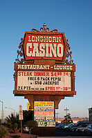 Longhorn casino in Las Vegas Nevada