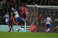 Football - 2017 / 2018 FA Cup - Third Round : AFC Bournemouth vs. Wigan Athletic<br /> <br /> Bournemouth's Steve Cook heads in a late equaliser to break Wigan hearts at Dean Court (Vitality Stadium) Bournemouth <br /> <br /> COLORSPORT/SHAUN BOGGUST