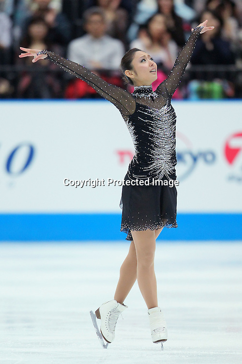 Miki Ando (JPN), OCTOBER 2, 2010 - Figure Skating : Miki Ando of Japan performs during Japan Open 2010 at Saitama Super Arena, Saitama, Japan. (Photo by Yusuke Nakanishi/AFLO SPORT) [1090]