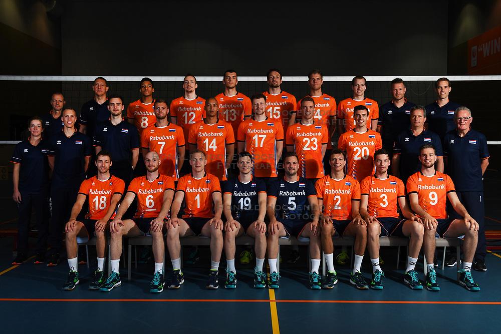14-05-2018 NED: Team shoot Dutch volleyball team men, Arnhem