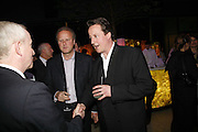 DAVID CAMERON, Launch of Tat Modern's rehang of its permanent Collection in partnership with UBS. Tate Modertn. 23 May 2006. ONE TIME USE ONLY - DO NOT ARCHIVE  © Copyright Photograph by Dafydd Jones 66 Stockwell Park Rd. London SW9 0DA Tel 020 7733 0108 www.dafjones.com