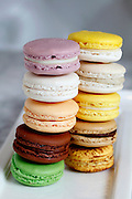 Macaroons at Alexander's Patisserie in Mountain View, Calif., on Monday, April 27, 2015.