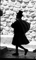 A quechua woman in Cusco, Peru