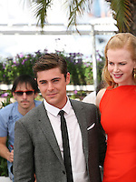 Zac Efron,  Nicole Kidman, at The Paperboy photocall at the 65th Cannes Film Festival France. Thursday 24th May 2012 in Cannes Film Festival, France.