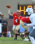 NCAA Football: #5 Citadel fends off VMI in Military Classic of the South, 30-20 - VMI backup quarterback Jake Paladino was 9 of 15 for 100 yards and a touchdown in the second half.