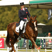 Zara Phillips (GBR) and Ardfield Magic Star at the 2007 Land Rover Burghley Horse Trials held in Stamford, England