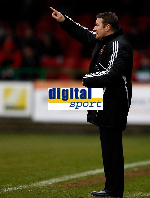 Photo: Richard Lane/Richard Lane Photography. Swindon Town v Norwich City. Coca-Cola Football League One. 20/03/2010. Swindon's manager, Danny Wilson.