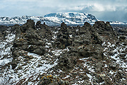 Dimmuborgir is located in the north-east-iceland.<br /> www.gyda.is