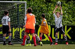 Ruben #13 of VV Maarssen  in action. VV Maarssen O14-1 played a friendly game against CDW O15-2. Maarssen won 9-2 on July 11, 2020 at Daalseweide sports park Maarssen.