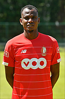 LIEGE, BELGIUM - JULY 10:  <br /> Uche Agbo of Standard during the 2019 - 2020 season photo shoot of Standard de Liege on July 10, 2019 in Liege, Belgium. (Photo by Johan Eyckens/Isosport)