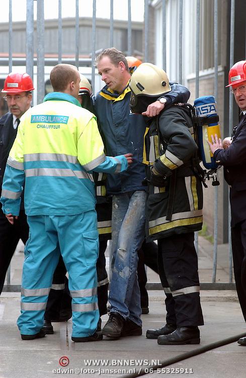 Brandweerwedstrijden Huizen, gewonde gevonden