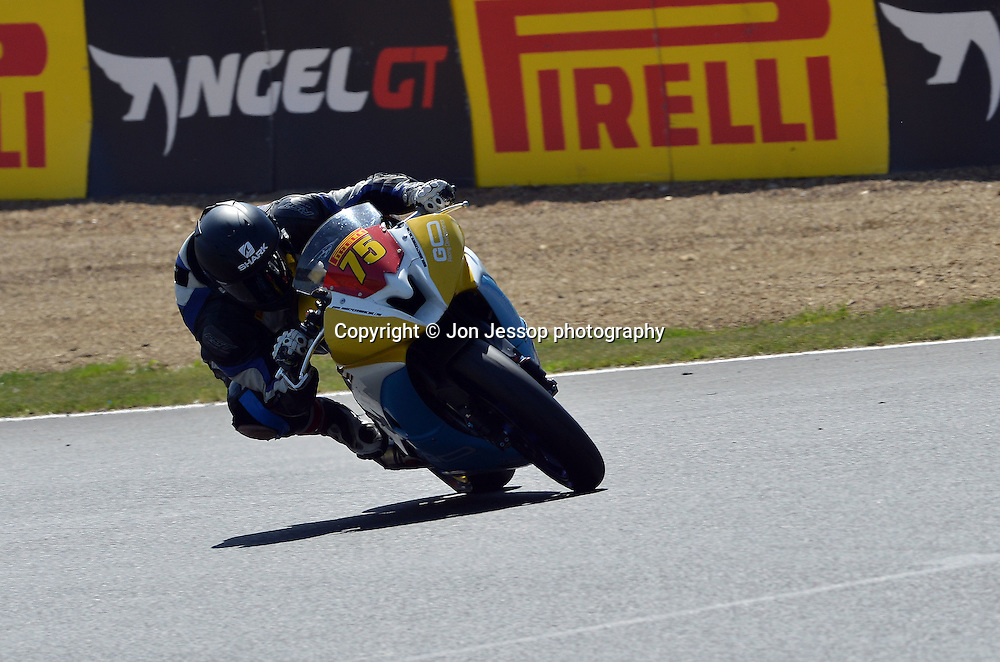 #75 James Perrin Perrin Racing - Go Racing Developments Yamaha Superstock 600