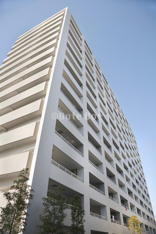 modern apartment high rise Japan