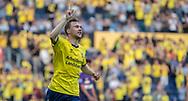 FODBOLD: Simon Tibbling (Brøndby IF) jubler efter scoringen til 3-1 under kampen i Superligaen mellem Brøndby IF og FC Midtjylland den 20. maj 2019 på Brøndby Stadion. Foto: Claus Birch.