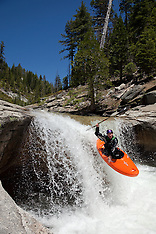 Kayaks on Silver Creek - South Fork