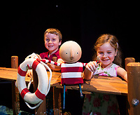 19/07/2017 Repro Free:  Sean and Laoise Colleran from Craughwell got to The world premiere of Branar&rsquo;s How to Catch a Star, adapted from the book by Oliver Jeffers and directed by Marc MacLochlainn is on at the O&rsquo;Donoghue Theatre in NUI Galway as part of Galway International Arts Festival. <br /> <br /> How to Catch a Star is an adaptation by Galway&rsquo;s Branar and combines puppetry with a magical original score and evocative animation and design. Suitable for ages 4+ and running until 29 July. <br /> Photo:Andrew Downes, xposure .