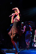"Rihanna at The Island Def Jam & Escada Moon Sparkle Present "" A Girls Night Out "" in support of Rihanna's Believe Foundation held at The Highline Ballroom on April 9, 2008"
