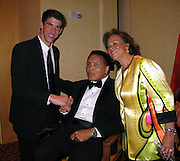 Michael Phelps, Muhammad Ali and Lonnie Ali..Muhammad Ali Celebrityvibe Fight Night XV..A Benefit to raise funds to fight against Parkinson disease..Marriott Hotel and Resort..Phoenix, AZ, USA..Saturday, March 28, 2009..Photo By Celebrityvibe.com.To license this image please call (212) 410 5354; or Email: celebrityvibe@gmail.com ;.website: www.celebrityvibe.com