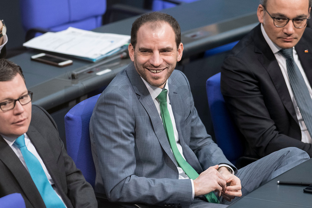 14 FEB 2019, BERLIN/GERMANY:<br /> Maik Beermann, MdB, CDU, Bundestagsdebatte, Plenum, Deutscher Bundestag<br /> IMAGE: 20190214-01-023<br /> KEYWORDS: Bundestag, Debatte