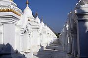 Myanmar, Mandalay, Kuthodaw Pagoda,