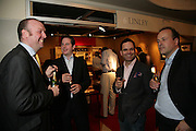 Colin Butler, Neil Birks, Michael Lake and Stephen Loakes, New Collectors Evening. Grosvenor House Antiques Fair. Park Lane. 19 June 2007.  -DO NOT ARCHIVE-© Copyright Photograph by Dafydd Jones. 248 Clapham Rd. London SW9 0PZ. Tel 0207 820 0771. www.dafjones.com.