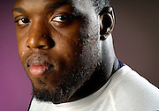 Baltimore Ravens linebacker Terrell Suggs photographed at the Ravens headquarters in Owings Mills.
