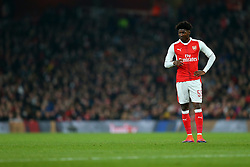 25 October 2016 - EFL Cup - 4th Round - Arsenal v Reading - Ainsley Maitland-Niles of Arsenal - Photo: Marc Atkins / Offside.