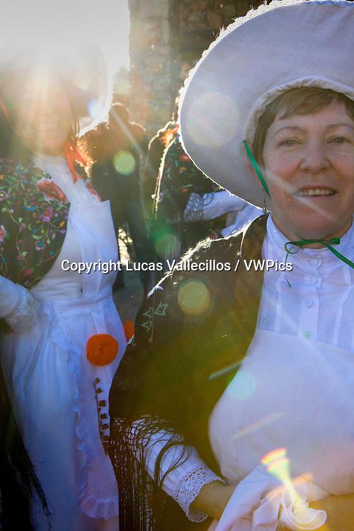 Mascaritas. Carnival, Almiruete. Tamajon, Guadalajara province, Castilla-La Mancha, Spain