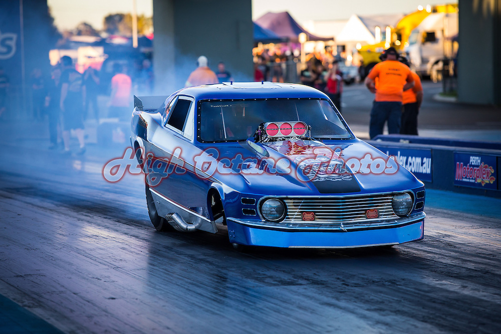 Frank Taylor - 3152 - Ford Mustang Funny Car - Nostalgia Nitro Funny Car (F/C)