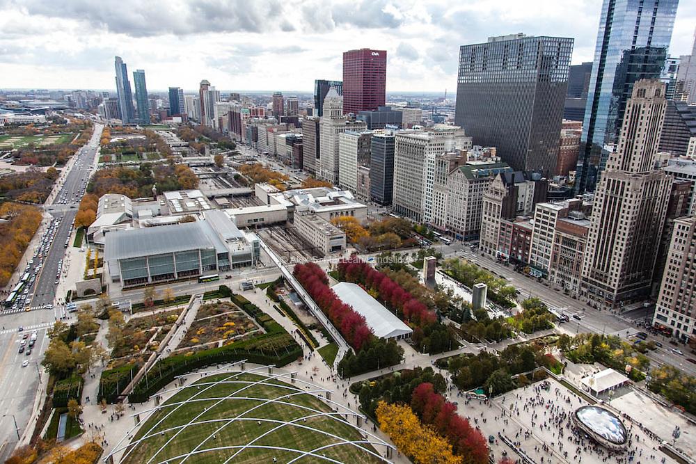 Millenium and Grant Park<br /> <br /> Maggie Daley Park designed by Michael Van Valkenburgh Associates<br /> <br /> Jay Pritzker Pavillion, designed by Frank Gehry
