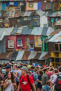 Then Blues area. The 2015 Glastonbury Festival, Worthy Farm, Glastonbury.
