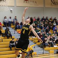 Men's Basketball: St. Norbert College Green Knights vs. University of Wisconsin-Superior Yellowjackets
