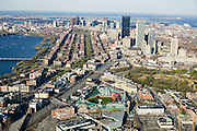 Fenway Park home of the Boston Red Sox in the Back Bay / Kenmore Square area of Boston.