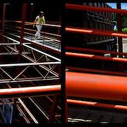 DAILY VENEZUELA II / VENEZUELA COTIDIANA II<br /> Photography by Aaron Sosa <br /> <br /> Left: Engineering Institute - Venezuela 2008 / Instituto de Ingenieria - Venezuela 2008<br /> <br /> Right: Guasdualito, Apure State - Venezuela 2007 / Guasdualito, Estado Apure / Venezuela 2007<br /> <br /> (Copyright © Aaron Sosa)