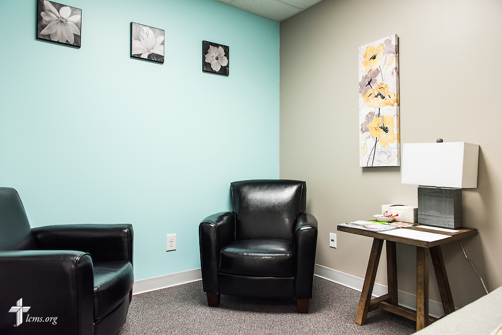 A counseling room in the new Iowa Life Care (LC) Clinic on Saturday, Aug. 15, 2015, in Creston, Iowa. The clinic is a former Planned Parenthood facility. LCMS Communications/Erik M. Lunsford