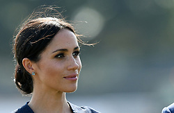 Meghan, Duchess of Sussex attends the Sentebale ISPS Handa Polo Cup at the Royal County of Berkshire Polo Club on July 26, 2018.