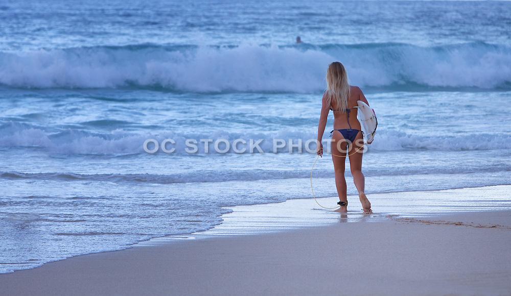 Southern California Female Surfer